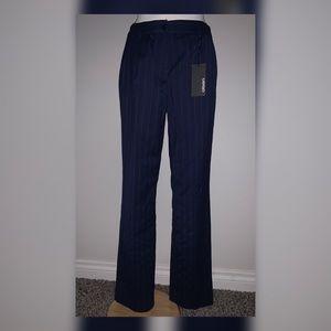 Olsen Mona Straight Navy Blue PantsSuits